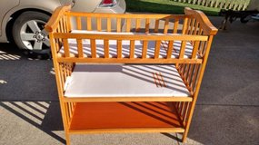 SIMPLICITY FOR CHILDREN WIPEABLE CHANGING TABLE AND PADS in Fort Campbell, Kentucky