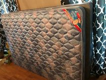Queen size mattress with box spring in Lockport, Illinois