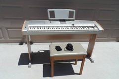 Yamaha Portable Grand DGX-505 with Stand and Stool in Vacaville, California