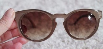 Taupe Brown Plastic Frame Sunglasses in Naperville, Illinois