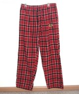 NHL Chicago Blackhawks Red Plaid Flannel Pajama Bottom Mens Large Lounge Pants in Morris, Illinois