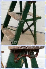 Green Step Ladder in Naperville, Illinois