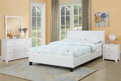 New California King Bed Frame in White FREE DELIVERY in Vista, California
