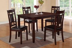 Dining Table + 4 Chairs Set Hardwood FREE DELIVERY in Camp Pendleton, California