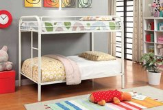 New Metal Twin/Twin Bunk Bed + Optional Trundle FREE DELIVERY in Camp Pendleton, California