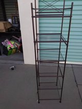 Bronze Color 6 Tier Shelve Wire Metal in Fairfield, California