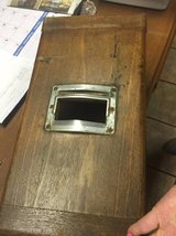 Vintage Wooden Cash Box in Baytown, Texas