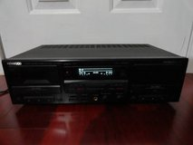 VINTAGE HX PRO KENWOOD KX-W8050 STEREO DOUBLE CASSETTE TAPE DECK in Travis AFB, California