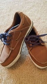 Brown Boys Boat Shoes Size 12 in Chicago, Illinois