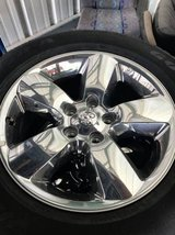 275/60R20 fac wheels and tires to a 17 Ram in Kingwood, Texas