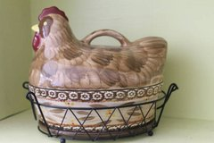 Temp-tations By Tara Figural Old World Chicken Casserole Dish 4 Pieces in Montezuma, Georgia