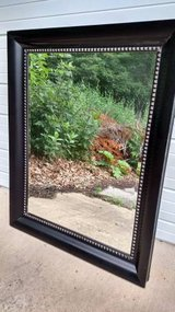 Large Decorative Black Floor Mirror in Bartlett, Illinois