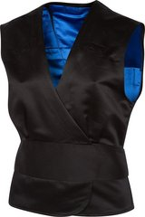 NEW the cold shoulder - black vest - womens size xxx large = 49 INCH chest new cnotes in Houston, Texas
