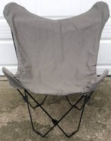 Taupe Butterfly Chair in Orland Park, Illinois