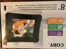 "Coby 8"" digital photo frame with multimedia playback in Fort Hood, Texas"