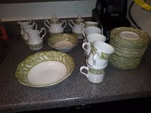 JG Meakin Renaissance Green English Staffordshire Sterling In Fairfield on 6/16 if you want me t... in Roseville, California