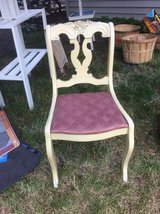 Vintage Cute Victorian Accent Chair in Bartlett, Illinois