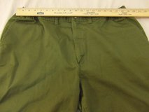 mens authentic boy scouts of america 42 green zip up classic fit shorts  00165 in Huntington Beach, California