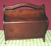 ANTIQUE SEWING/YARN BOX in Elgin, Illinois