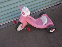 Radio Flyer Pink Big Wheel Trike Tricycle in Sacramento, California