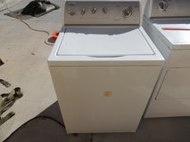 whirlpool ultimate care 2 washing machine lsq9010pw0 white works 50915 in Huntington Beach, California