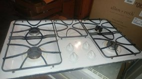 GE white cooktop gas 4 burner in Moody AFB, Georgia