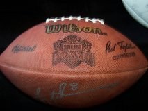 Troy Aikman Autographed Superbowl XXVII ( 27 ) Football in Travis AFB, California