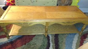Oak Coffee Table & End Table set (2) Total in Barstow, California