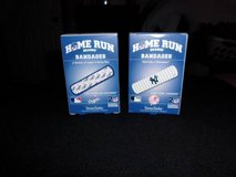 LICENSED MLB BAND AIDS DODGERS & YANKEES in Barstow, California