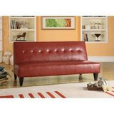 ACME Adjustable Futon Sofa (Red) - NEW! in Joliet, Illinois