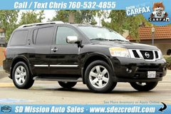 2013 Nissan Armada SL Black in Vista, California
