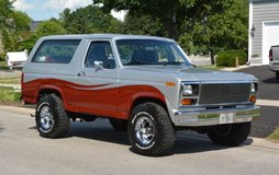 ** 1986 FORD BRONCO in Bartlett, Illinois