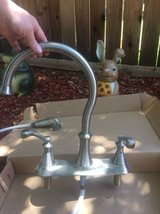 Delta stainless finish kitchen faucet in Baytown, Texas