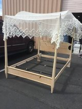 Queen Canopy Bed Frame in Tacoma, Washington
