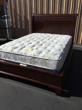 Beautiful Queen Sized Sleigh Bed in Tacoma, Washington