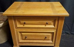 Two Drawer Thomasville Side / Bedside Table in Tacoma, Washington