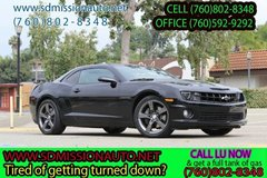 2012 Chevrolet Camaro SS manual  Ask for Louis (760) 802-8348 in Camp Pendleton, California