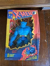 marvel comics x-men beast collectible action figure in Glendale Heights, Illinois