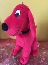 "Clifford the Big Red Dog  plush stuffed animal toy by Kohl's cares  14"" in Morris, Illinois"