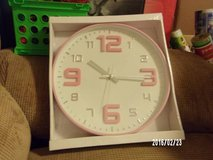 NEW BOXED CLOCKS IN PASTEL COLORS in Barstow, California