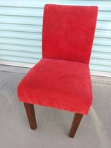 Red Velvet Chair (only one) in Roseville, California