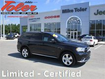 2014 Dodge Durango Limited-Certified-Back up Cam-PRICE REDUCED!-(STK-14565A) in Cherry Point, North Carolina