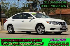 2016 Nissan Altima 2.5 S ask for Louis (7600 802-8348 in Camp Pendleton, California