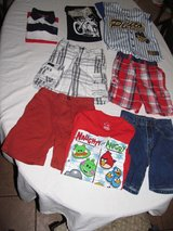 18 pcs lot of boys clothes size 4 5 6  blue red shirts pants school summer fall in Cochran, Georgia