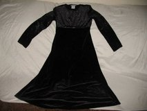 girl's amy byer dress outfit black silver size 12 holiday party birthday clothes in Cochran, Georgia