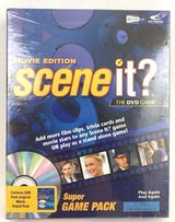 NEW Scene It Movie Edition The DVD Game Super Game Pack Trivia Sealed NEW in Morris, Illinois