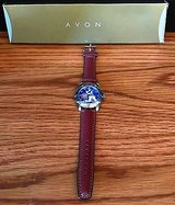 Avon Sammy Sosa Cubs Home Run Hero Leather Band Wrist Watch MIB 1998 needs battery in Chicago, Illinois