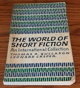 The World of Short Fiction An International Collection Edited by Gullason Casper in Naperville, Illinois