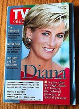 Princess Diana, the Avengers, NYPD Blue - 1998 TV Guide in Plainfield, Illinois