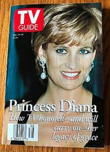 Princess Diana, Katie Haas, Elizabeth Hubbard - 1997 TV Guide in St. Charles, Illinois